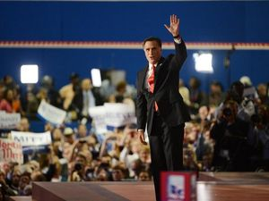 GOP nominee Romney says he won't disappoint