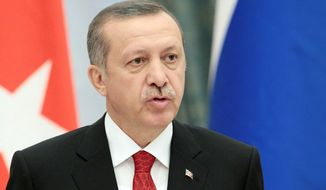 Turkish Prime Minister Recep Tayyip Erdogan has forged a means of cohabitation with the military, which once sparred openly with the government over the direction of the country. (Associated Press)