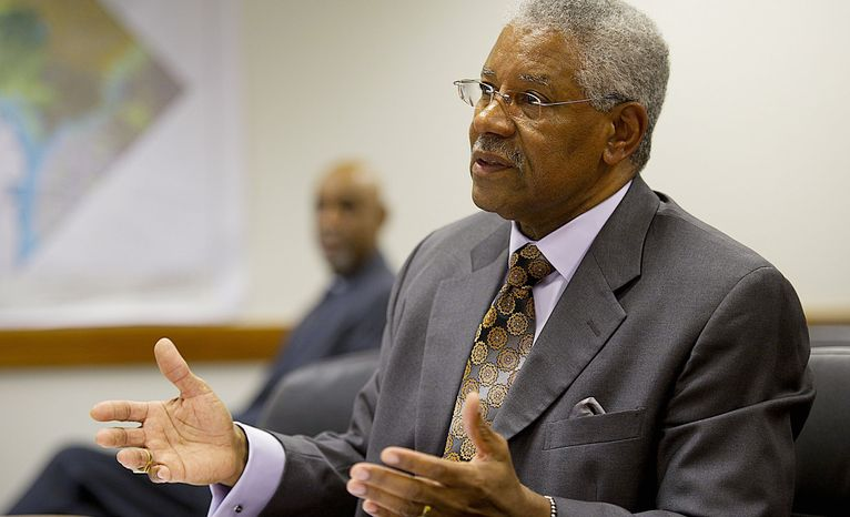 Lobbyist-lawyer David Wilmot reached out to the D.C. Council chairman and council member Marion Barry after Intralot won a $38 million-a-year lottery contract award, an internal memo from the international gambling firm suggests. (Barbara L. Salisbury/The Washington Times)