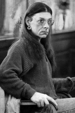 ** FILE ** Robert Kosilek sits in Bristol County Superior Court in New Bedford, Mass., on Jan. 15, 1993, during his trial for the May 1990 killing of his wife. (AP Photo/Lisa Bul)