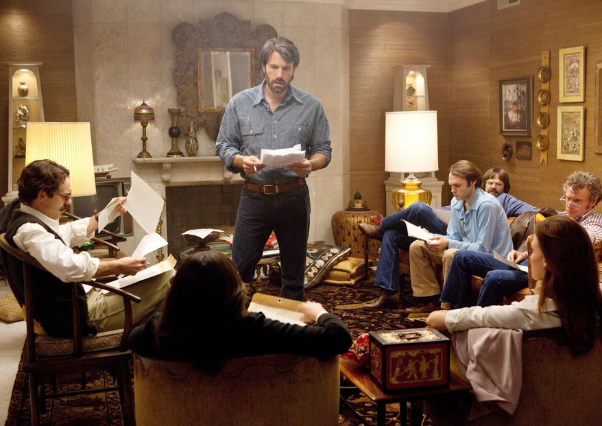 """Ben Affleck (center) stars in """"Argo,"""" a thriller about the 1979 Iranian hostage crisis. The film is among 289 feature-length films to be shown at the 11-day festival. (Warner Bros. Pictures)"""