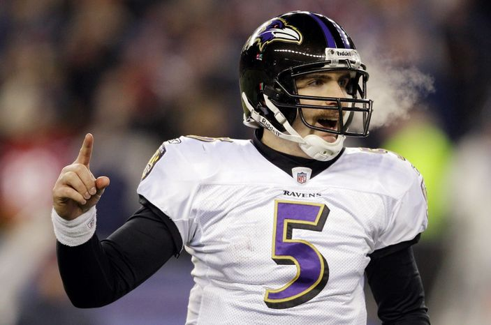 associated press Joe Flacco has led Baltimore to a 49-23 regular-season record since entering the NFL in 2008. The Ravens also are 5-4 in the playoffs with him under center.