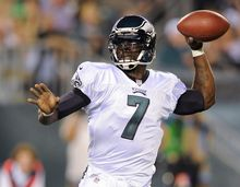 The Redskins will look to make Christmas a little less merry for Michael Vick and the Eagles when they travel for a holiday matchup Dec. 23. (Associated Press)