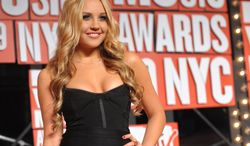 Actress Amanda Bynes arrives at the MTV Video Music Awards in New York in September 2009. (AP Photo/Peter Kramer)