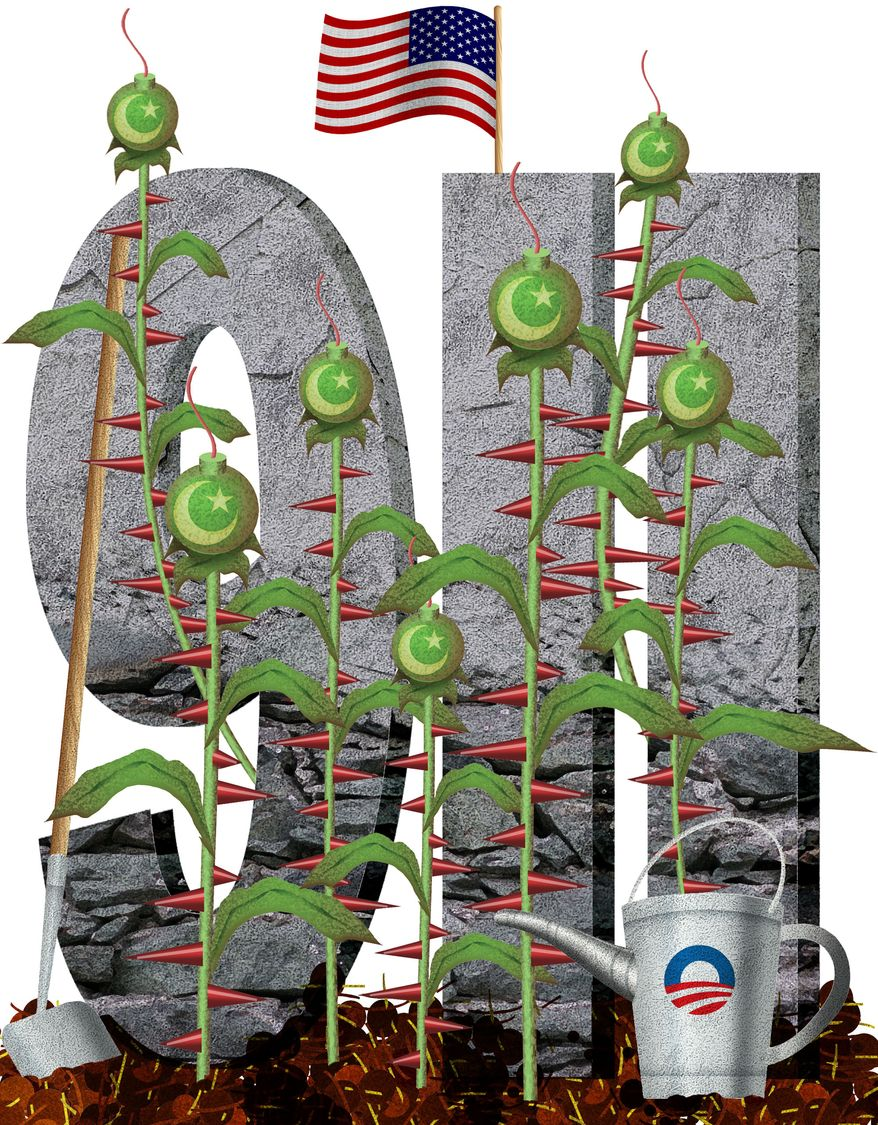 Illustration 9-11 by Alexander Hunter for The Washington Times