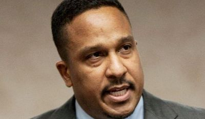 Ronald C. Machen Jr., U.S. attorney for the District, has taken down council member Harry Thomas Jr. and Chairman Kwame R. Brown. (Associated Press)