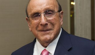 Music mogul Clive Davis attends singer Aretha Franklin's 70th-birthday party in New York on Saturday, March 24, 2012. (AP Photo/Charles Sykes)