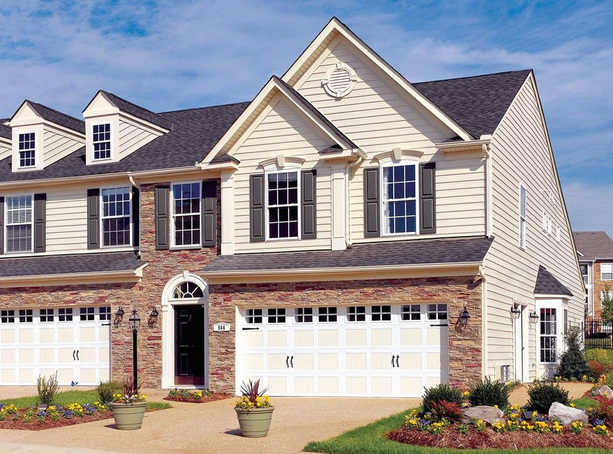 Ryan Homes is building villa-style town homes at Legacy at the Courtyards at Waverly Woods West in Marriottsville, Md. The homes are base-priced from $353,990 to $361,990 and have 2,187 finished square feet, which can be expanded to 3,953 square feet.