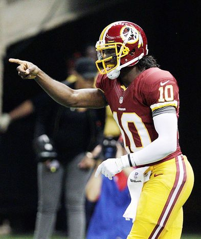 Redskins QB Robert Griffin III is set to face his first defense that will have had regular-season game film of him. (Associated Press)