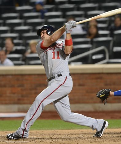 Ryan Zimmerman hit the 150th home run of his career Wednesday night, his 22nd of the season. (Associated Press)