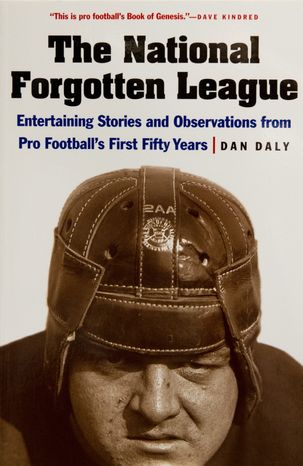 Cover of the book The National Forgotten League by Dan Daly, in Washington, D.C.,Tuesday, September 11, 2012. (Rod Lamkey Jr./The Washin