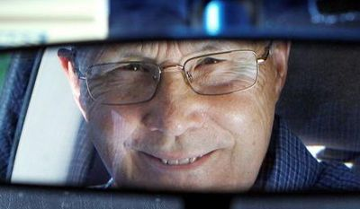 ASSOCIATED PRESS  Jerry Wiseman is reflected in the rearview mirror, in Schaumburg, Ill. Mr. Wiseman and his wife, Sandy, took refresher driving classes to help them stay safe behind the wheel for many more years. Mr. Wiseman learned exercises to improve his flexibility for checking blind spots when turning. He takes extra care with left-hand turns, which become riskier as the ability to judge speed and distance wanes with age. Thirty states and the District of Columbia have special requirements for older drivers.