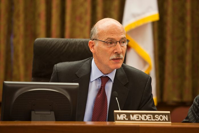 D.C. City Council Chairman, Phil Mendelson, calls to order the 42nd legislative meeting of City Council period 19 after summer recess. Wednesday, Sept. 19, 2012, in Washington, DC. (Craig Bisacre/The Washington Times)