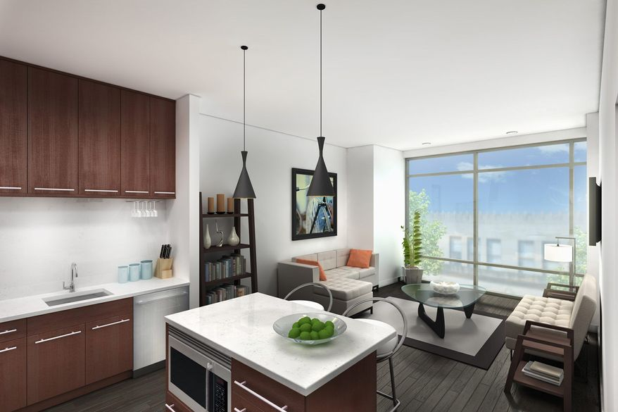 The homes at the Aston feature open floor plans and gourmet kitchens.