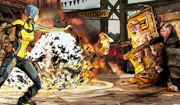 Prepare for some gruesome fights in the video game Borderlands 2.