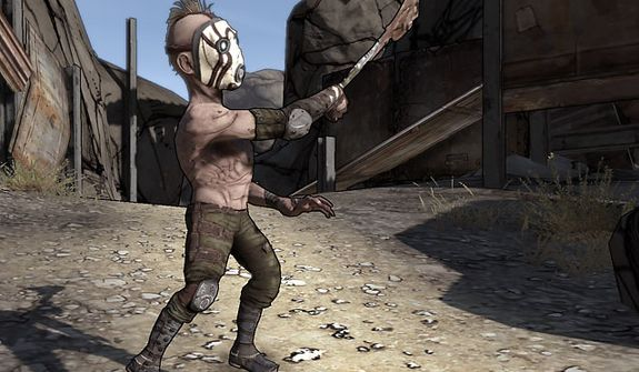 Enemies come in all shapes and sizes in the video game Borderlands 2.