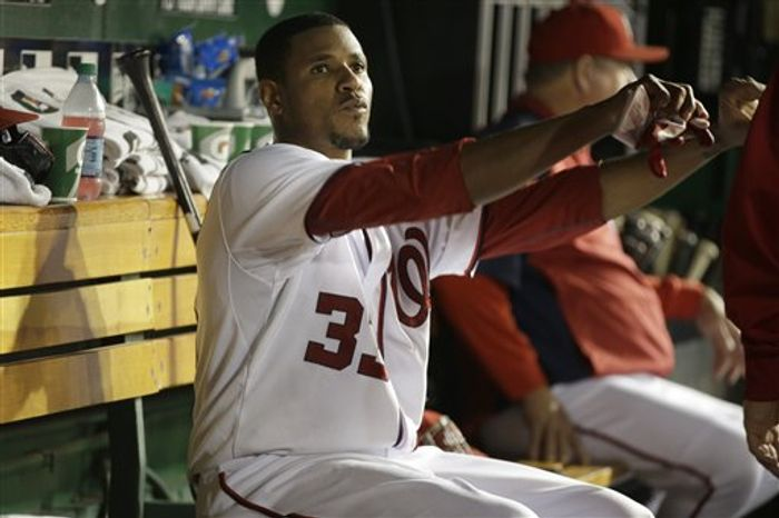 Edwin Jackson allowed one run in eight innings against the Brewers on Friday night. (Associated Press)