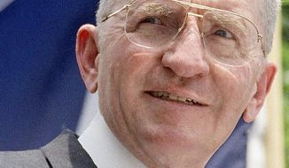 A Texas businessman who made billions, the folksy speaker H. Ross Perot also found relative success as a third-party presidential candidate in 1992. (Associated Press)