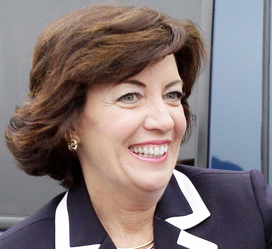Western New York Democratic Rep. Kathleen C. Hochul is trying to hold on to a seat she won in a special-election upset last year. (Associated Press)