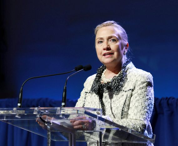 Secretary of State Hillary Rodham Clinton on Wednesday at the U.N. General Assembly in New York told Myanmar President Th