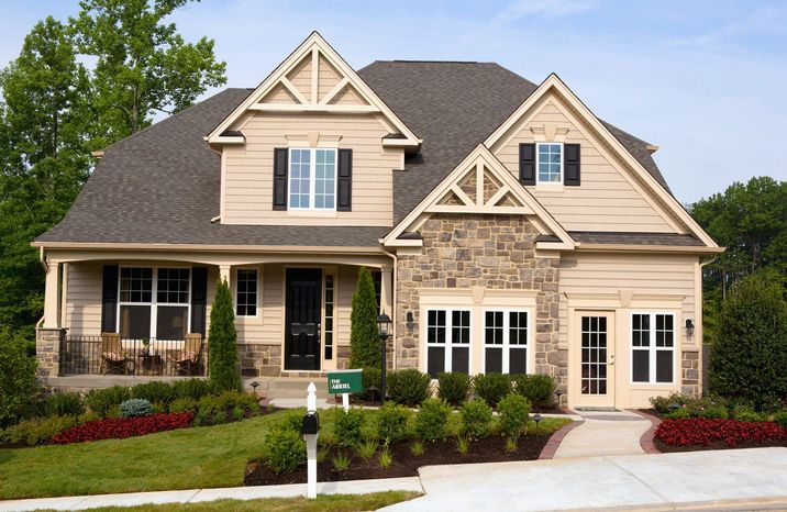Drees Homes is building 238 single-family homes on quarter-acre sites at Colonial Forge at Augustine in Stafford. The Abriel model, with 2,723 square feet, is priced from $432,400.