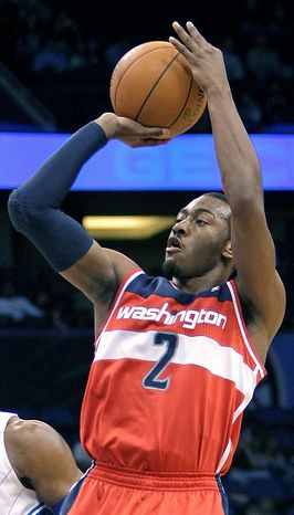 The Wizards have not made the playoffs since 2008. (AP Photo/John Raou