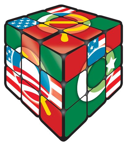 Illustration Obama Rubik's Cube by Linas Garsys for The Washington Times