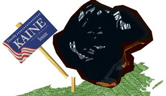Illustration: Coal by Alexander Hunter for The Washington Times
