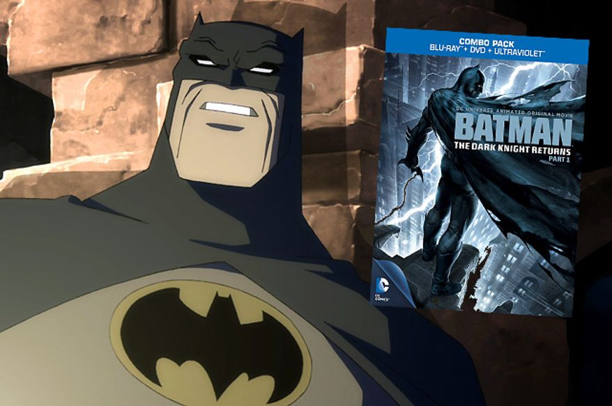 Frank Miller's sequential art masterpiece arrives in an animated format in Batman: The Dark Knight Returns, Part 1.