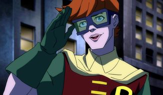 Carrie Kelly is Robin in Batman: The Dark Knight Returns, Part 1.