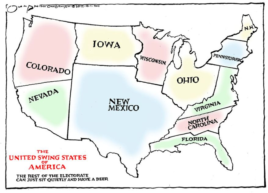 Illustration by Jack Ohman for the Oregonian