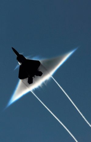 Coughing among pilots and fears that contaminants were leaking into their breathing apparatus led the experts to suspect flaws in the oxygen-supply system of the F-22 Raptor. A back-up system is expected to be installed by the end of 2012. (U.S. Navy via Associated Press)