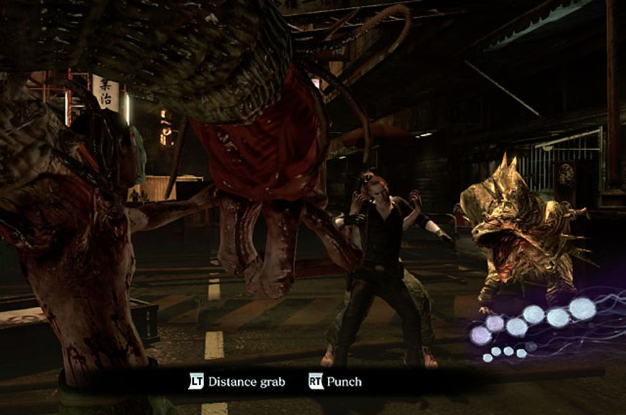 Become a monster in the Agent Hunt mode in the video game Resident Evil 6.