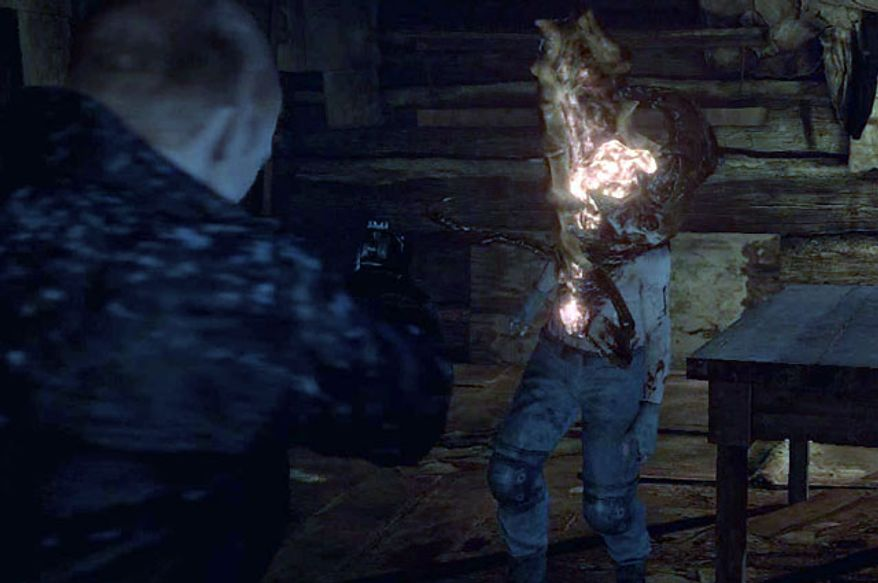 Strange mutants area all around in the video game Resident Evil 6.