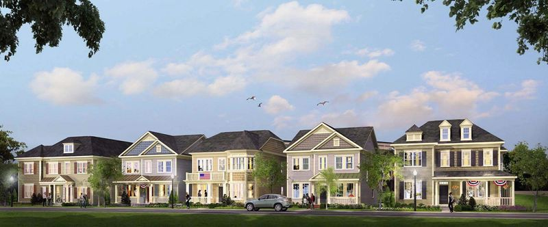Bozzuto Homes is building seven single-family homes at Uptown at Murray Hill in Annapolis. The two home styles currently available have 2,324 to 2,544 finished square feet, with base prices from $679,990 to $749,990.