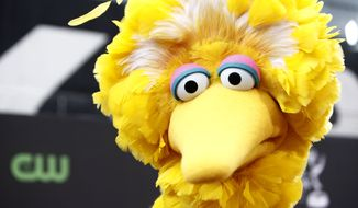 "**FILE** Big Bird is a longtime character on the children's television show ""Sesame Street."" (Associated Press)"