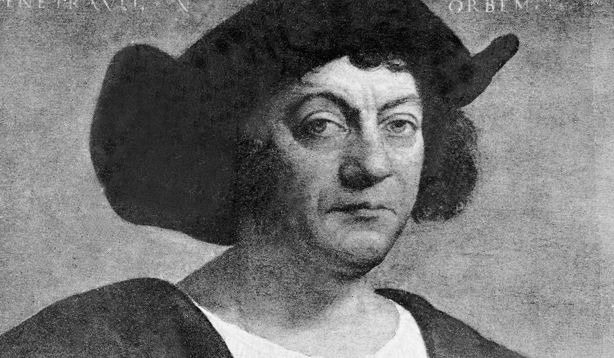 Christopher Columbus Associated Press File