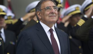 ** FILE ** U.S. Defense Secretary Leon Panetta (Associated Press)
