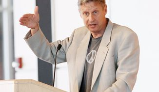 "Third-party candidate Gary Johnson has little presence in the presidential race but potentially could have a major impact on the election. Mr. Johnson, on the ballot in 48 states, is the Libertarian Party nominee. ""A wasted vote is voting for someone you don't believe in,"" Mr. Johnson said."
