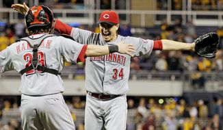 Associated Press  Homer Bailey, who threw a no-hitter two weeks ago, can help Cincinnati move on to the NLCS on Tuesday.
