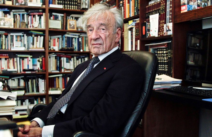 """Heart-bypass surgery was an ordeal but it gave Elie Wiesel a book topic. """"Open Heart"""" was written in French and is now being published in English. Mr. Wiesel, 84, survived the Holocaust and won the Nobel Peace Prize. (Associated Press)"""