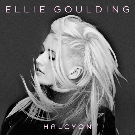 "Cover art for Ellie Goulding's ""Halcyon"""