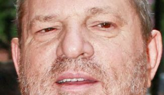 U.S. producer Harvey Weinstein arrives to the Champs Elysees Film Festival, in Paris, Wednesday, June 6, 2012. (AP Photo/Thibault Camus)