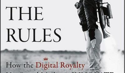 "Book cover for ""Renegades Write the Rules: How the Digital Royalty use Social Media to Innovate"" by Amy Jo Martin."