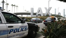 ** FILE ** Los Angeles International Airport. (AP Photo/Jason Redmond)