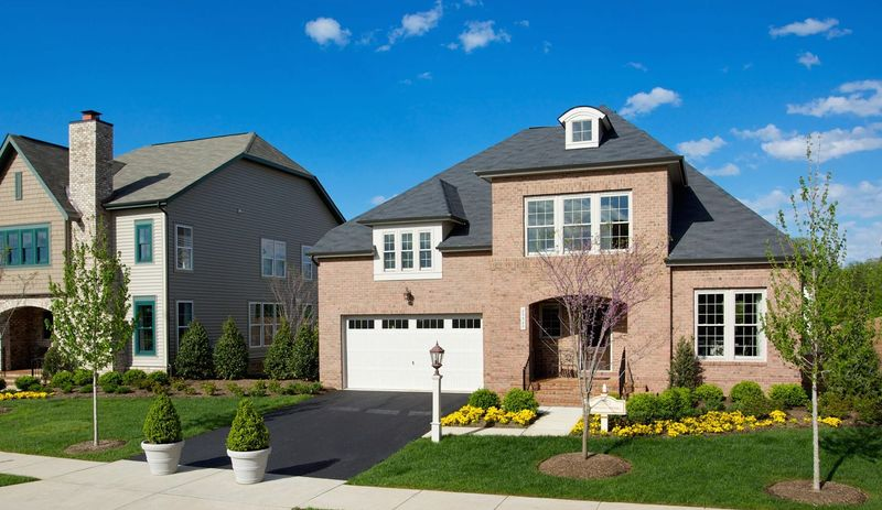 Miller and Smith is building 158 single-family homes in the Noble Pointe Collection of Brambleton in Ashburn. The Hathaway model, with 2,935 square feet, is priced from $579,990.