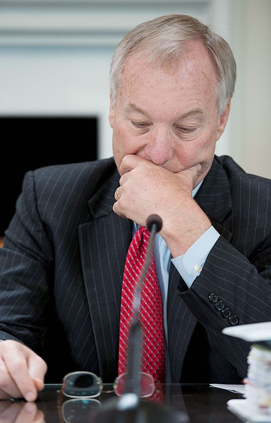 **FILE** Maryland state Comptroller Peter V.R. Franchot opposes the gambling initiative. (Barbara L. Salisbury/The Washington Times)