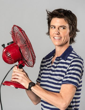 Tig Notaro turned tragedy into comedy during a 30-minute stand-up performance. Her unlikely live album sold more than 60,000 copies in a week. (Associated Press)