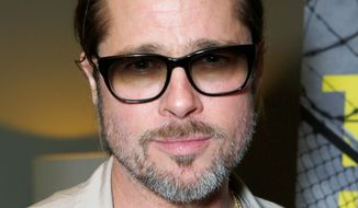 Executive Producer Brad Pitt attends 'The House I Live In' Los Angeles Screening at Sundance Cinema on October 12, 2012 in Los Angeles, California. (Photo by Todd Williamson/Invision/AP)