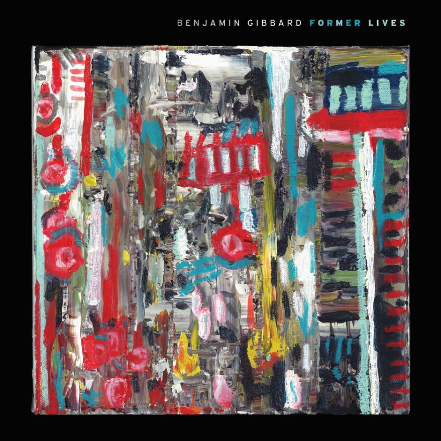 "Album cover for Benjamin Gibbard ""Former Lives""."